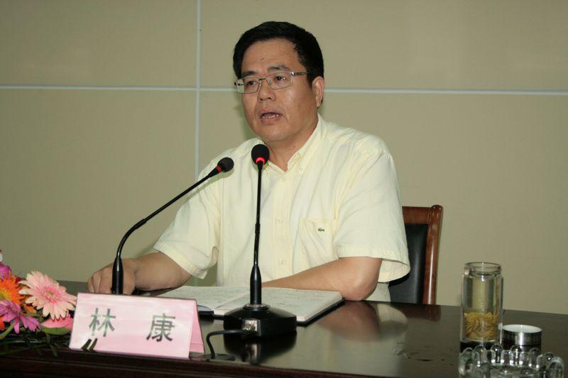 县长林康为全县教育系统干部作科学发展专题讲座图片
