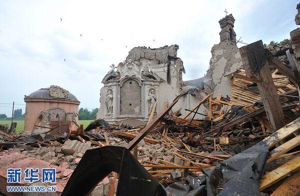 历史古城凌晨地震6人亡 文艺复兴时期古建筑被破坏